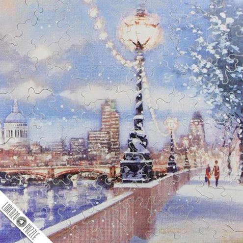 #52 Christmas Winter Scene