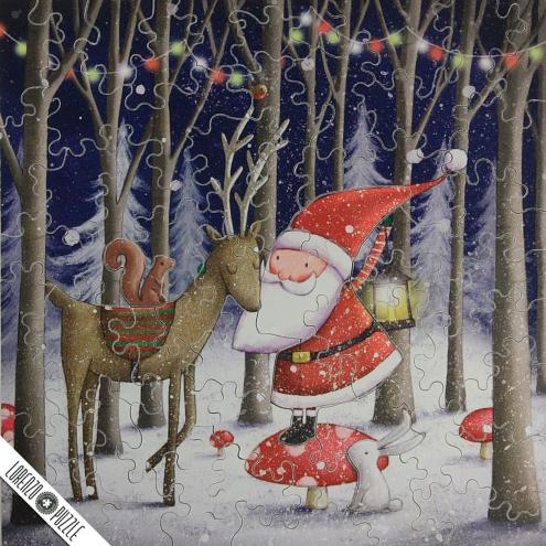 #54 Santa and Reinder